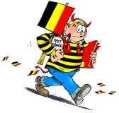 La maison d'édition belge bande dessinée rend hommage à Bruxelles. Crédit : Le Lombard