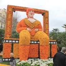 La fête du citron rend hommage au magnifique film de Fellini Amarcord sorti en 1975. (Crédit photo : Maxime Bonnet)