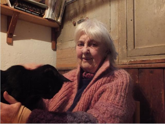 Nous avons rencontré Lise Levitsky chez elle en Bretagne. (crédit photo: Laure Le Fur)