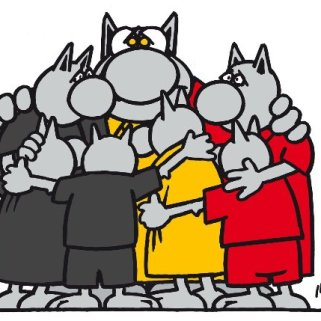 «Le Chat» se rassemble après les attentats de Bruxelles. Crédit: Philippe Geluck