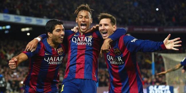 Le trio ''MSN'', Messi-Suarez-Neymar, a encore frappé, hier soir. (crédit photo: dhnet.be)