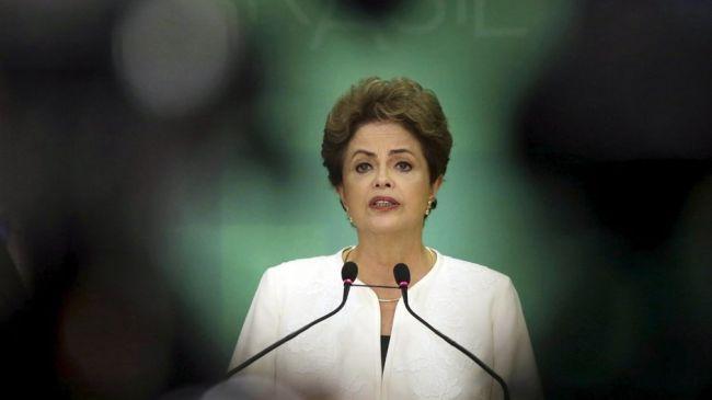 La présidente du Brésil, Dilma Rousseff. (Crédit photo : reuters)