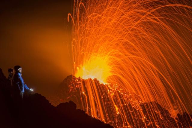 Eruption du Piton de la Fournaise d'août 2015