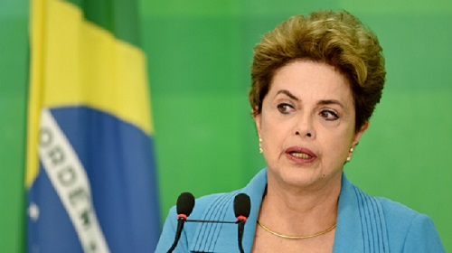 Photo Vignette + Photo Dilma Rousseff