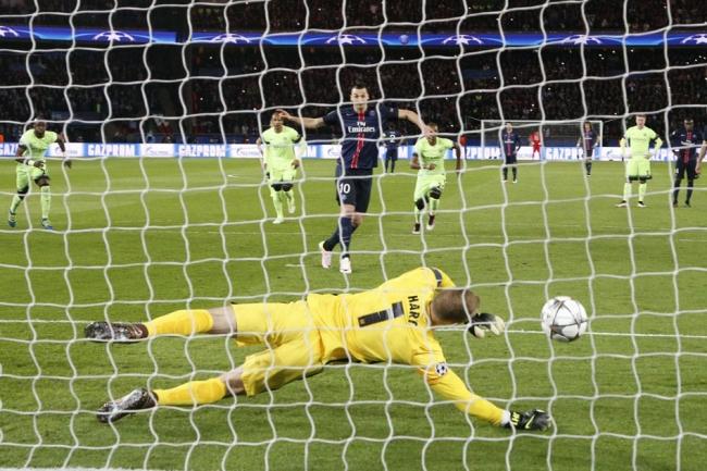 Zlatan penalty raté
