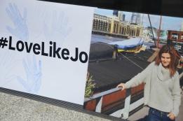#LoveLikeJo était brandi par de nombreux manifestants