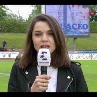 Cécile Grès, quatre médias, un ballon