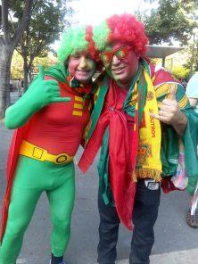 Même les super héros se sont déplacés du portugal