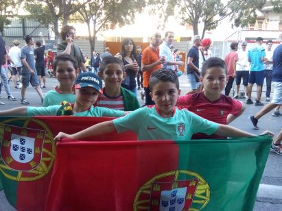 Ces jeunes marseillais ont choisi de soutenir le Portugal