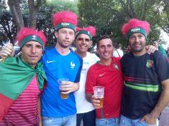 Pour ces Français, toutes les occasions sont bonnes pour célébrer le foot