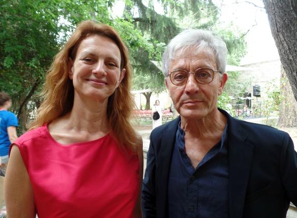 Sylvia Bergé et Didier Sandre