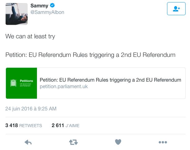 tweet Sammy Albon