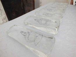 Les vainqueurs de chaque catégorie se sont vu remettre une sculpture en verre avec la fameuse sirène, symbole du festival. (Crédit photo : LLF)