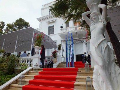 La cérémonie de clôture s'est déroulée à la Villa White House. (Crédit photo : LLF)