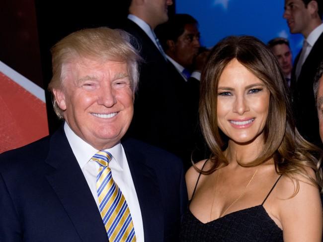 Donald Trump et sa femme, Melania Trump à New-York. Crédit photo: Chicago Tribune