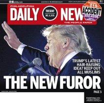 Trump vu comme le nouveau fürhrer par certains médias américains. (Crédit photo : washingtonpost.com)
