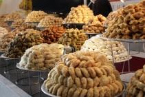 Les pâtisseries orientales ont également eu beaucoup de succès ( Crédit photo : Djenaba Diame )