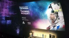 Le 17 novembre, l'astronaute français Thomas Pesquet, et deux de ses collègues russe et américain, ont quitté la base de Baïkonour à bord de la fusée Soyouz pour rejoindre la Station spatiale internationale où ils vont rester six mois en mission. (Crédit : Twitter @webgirl92)