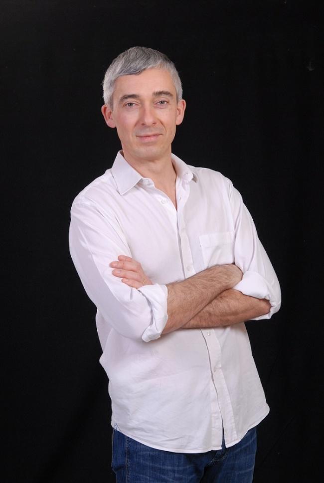 Benoist Simmat, auteur de l'Atlas de la France du futur.(Crédit photo : Yan Jumeau)