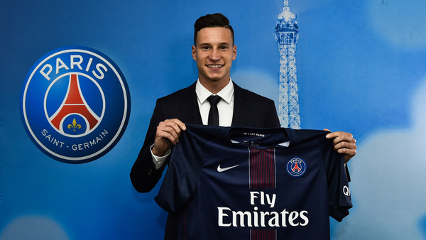 Julian Draxler, la recrue hivernale du Paris-Saint-Germain (crédits photo : AFP)