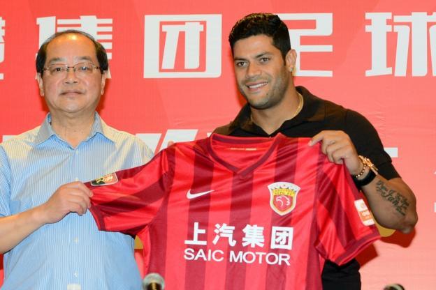 Hulk a rejoint le Shanghai SIPG pour 55,8 millions d'euros (Crédit photo: Reuters)