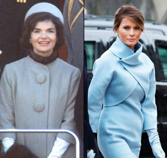 Jackie kennedy vs Melania trump.jpg