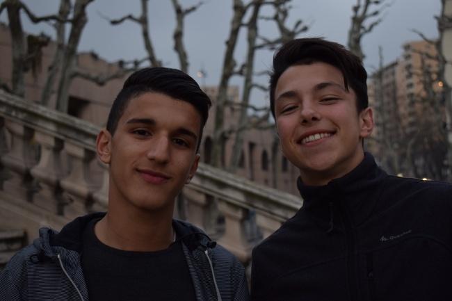 Deux jeunes Marseillais