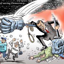 Paresh(Inde) © Cartooning for peace