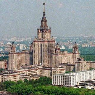 Université d'Etat de Moscou, l'un des grands centres pour l'enseignement du journalisme en Russie. (Crédit : D.R.)