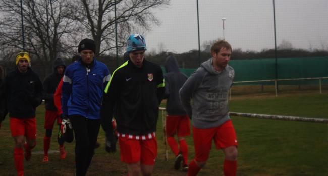 équipe de football mixte cannoise entraînement