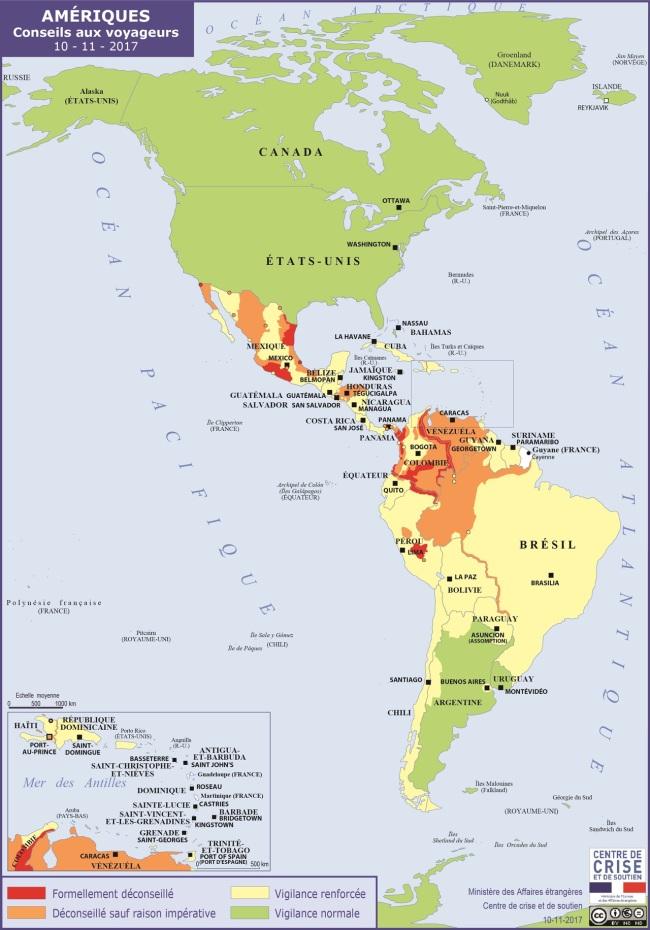 Carte gouvernement guatemala amérique centrale
