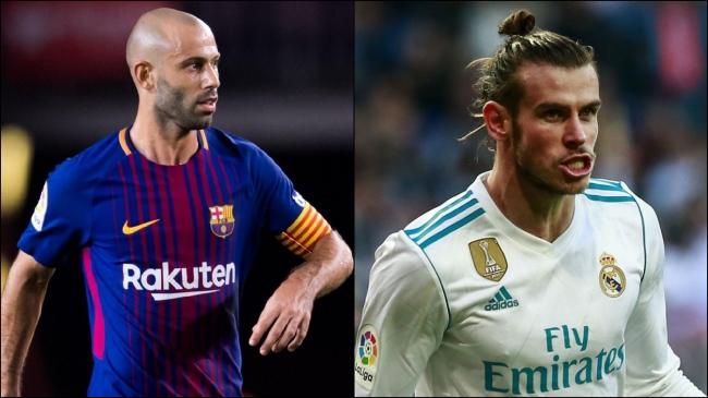 Bale Madrid Mascherano Barça