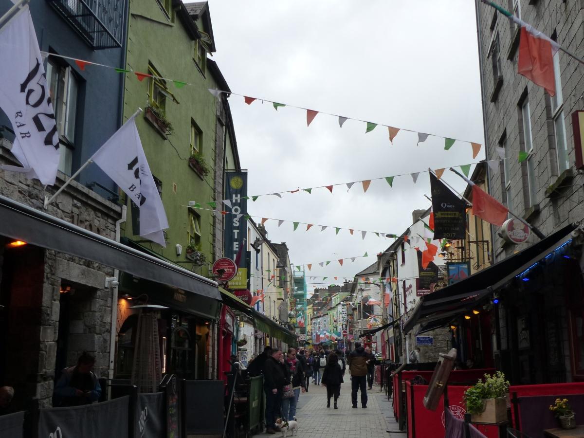 Galway, une ville colorée, attractive et chaleureuse