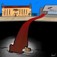 Bien loin de la croisette, la dure vie des sans-abris
