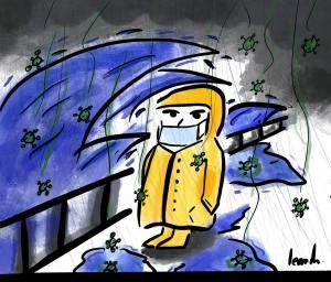 Covid-19 et tempête Alex : rentrée plus que difficile pour les habitants de la Région Sud