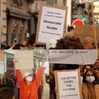 À Cannes et partout en France, les étudiants en école de journalisme luttent contre l'article 24