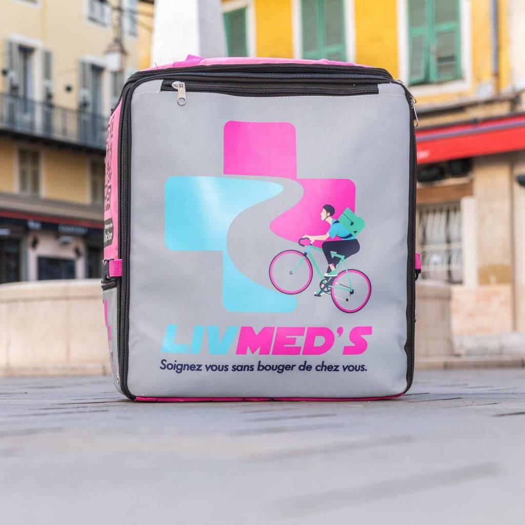 Les médicaments sont livrés par des coursiers formés -Photo DR